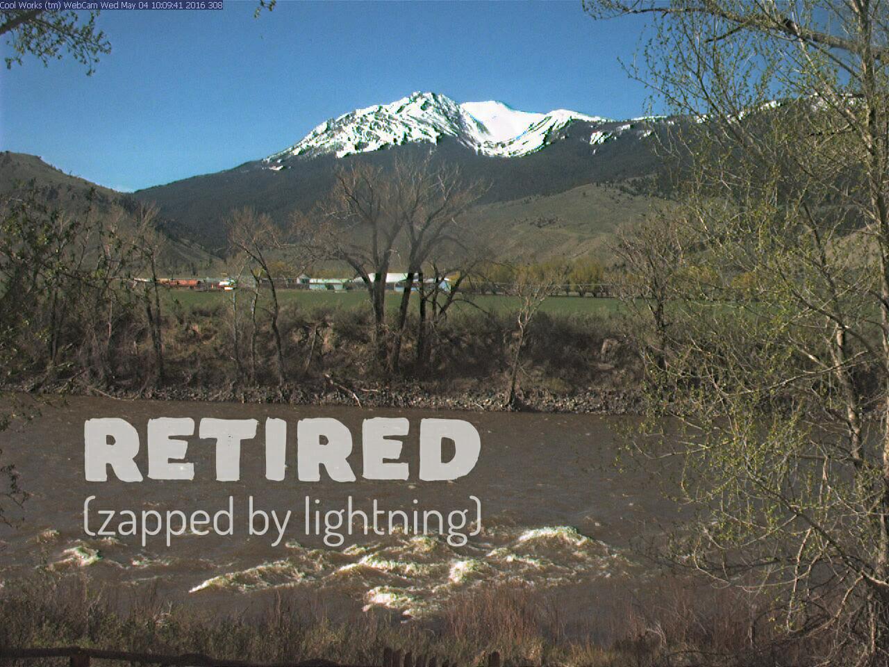 Yellowstone National Park Webcam